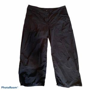 Babette Wide leg pants with pleated hem